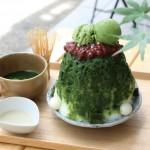 伊勢名物「伊勢抹茶かき氷」はお茶のスイーツ、水出し煎茶で有名な三重県伊勢市のお茶屋さん「木下茶園」